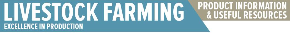 livestock farming banner